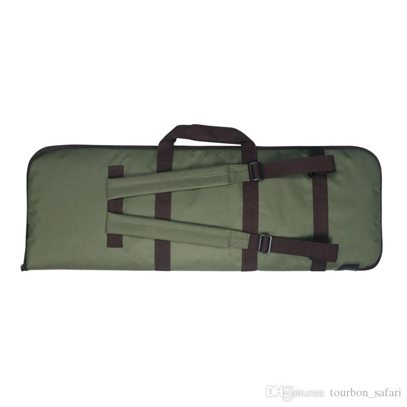 Tourbon Hunting Gun Accessories Rifle Gun Case Bag Padded Protection Slip Nylon Backpack Carrier Shooting 93cm