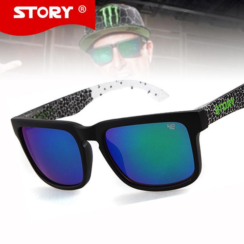 30f07a87e00 Wholesale-STORY New Brand Design Sports Sunglasses Top Quality ...