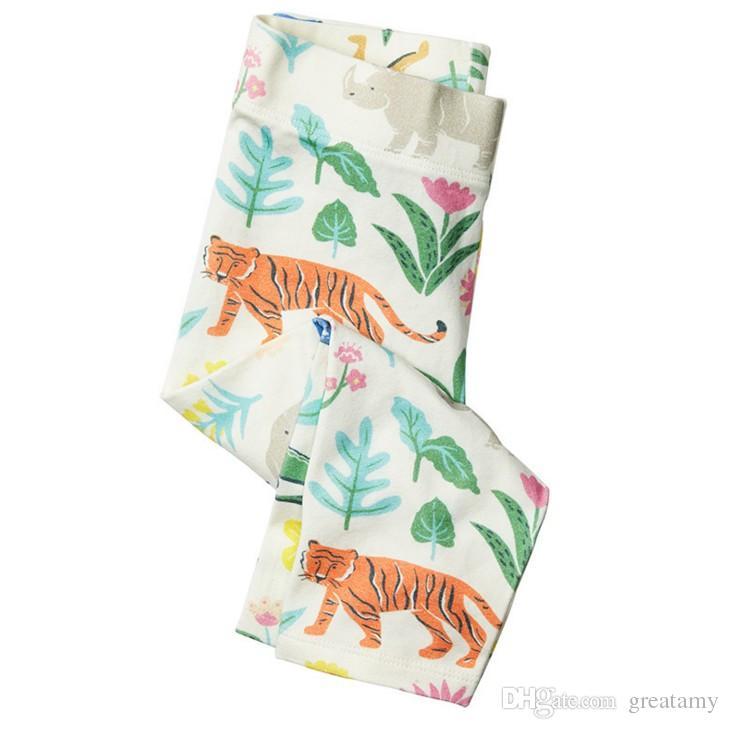 Baby Leggings for Girls Pants 2017 Brand Girls Leggings Kids Clothes Robe Enfant Skinny Cotton Children Trousers Leggings Girl