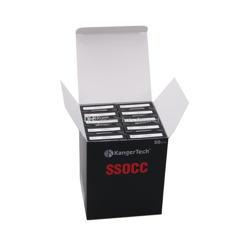 Kanger Subtank OCC Vertical Coils SSOCC Coil Heads 0.5 /1.2 /1.5ohm Kangertech Organic Cotton Coils 100% Original