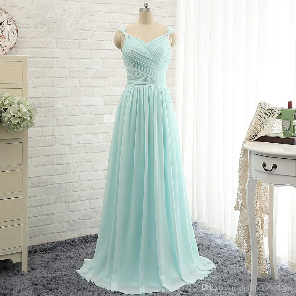 Cheap Plus Size Sweetheart Long Formal Country Wedding Bridesmaid ...