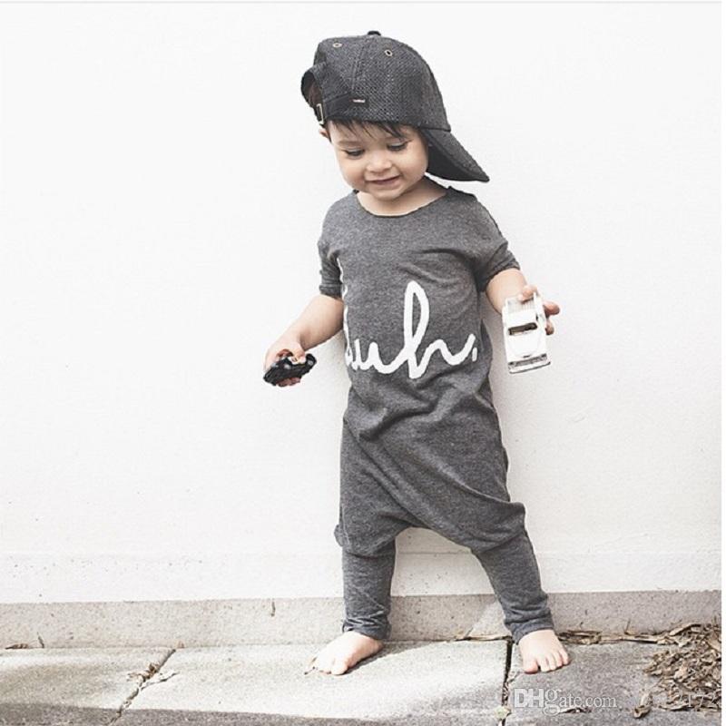 Moda Bebek Tulum Yaz Bebek Erkek Giysileri Yenidoğan Tulumlar Kızlar Tek Parça Giyim Genel Bebe Roupas% 100% Pamuk Yumuşak Bodysuits