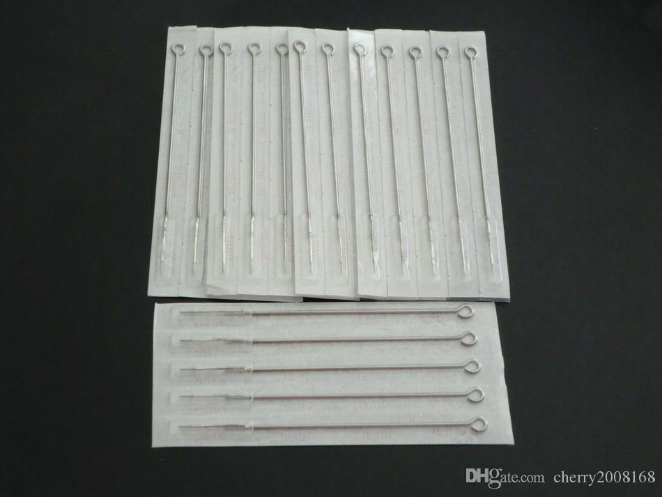 Drop Shipping 3RL 5RL 7RL 9RL PACK 50 Assorted Sizes Sterile Tattoo Needles Round Liner Supply
