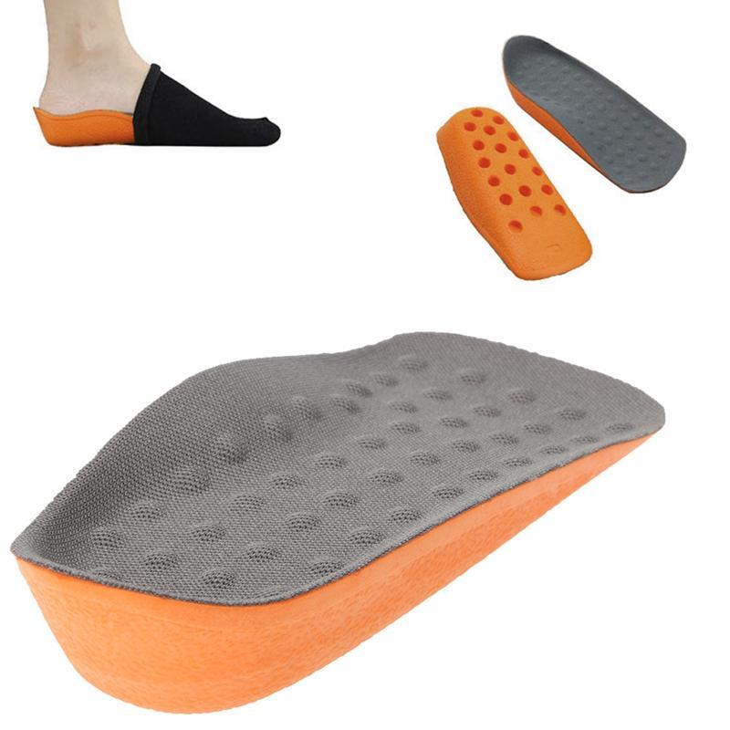 Sıcak satış ayaklar Yastık Ayak Topuk Ayaklar Yastık Ayak Topuk Fincan Elastik Bakım Yarım Astarı Yüksekliği Artırmak Ayakkabı Pad