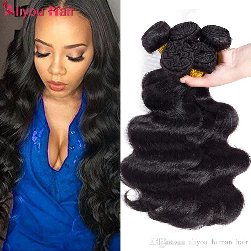 Malaysian Body Wave Virgin Human Hair Weave Bundles Wholesale Cheap