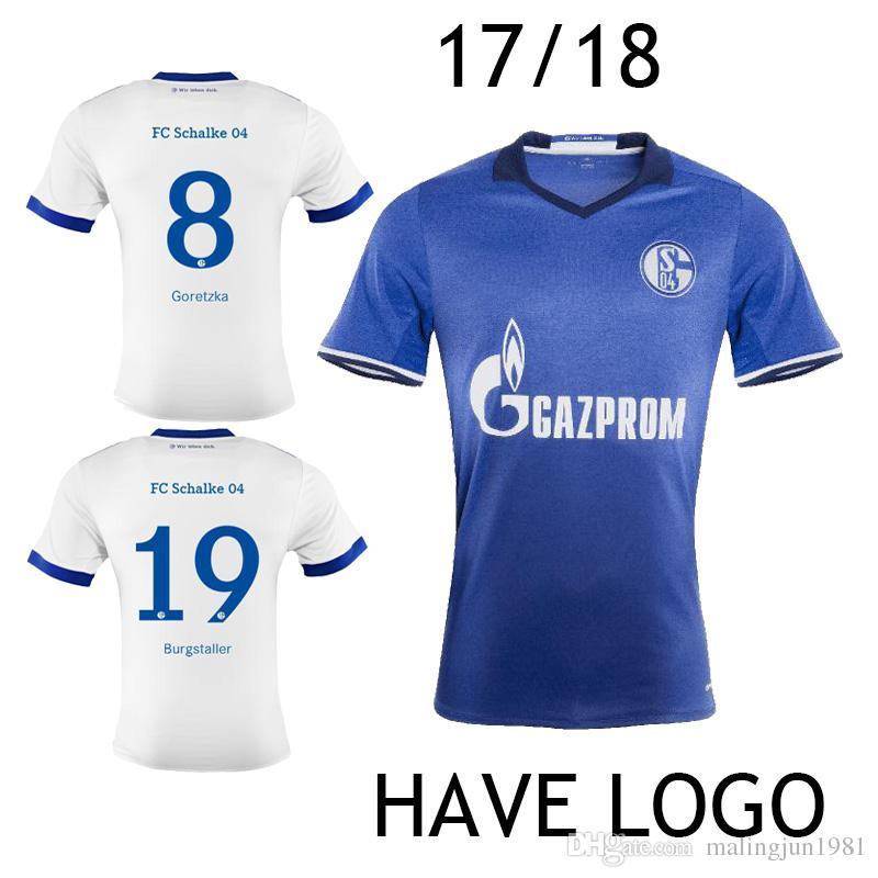 online cheap 2017 2018 schalke 04 soccer jersey goretzka. Black Bedroom Furniture Sets. Home Design Ideas
