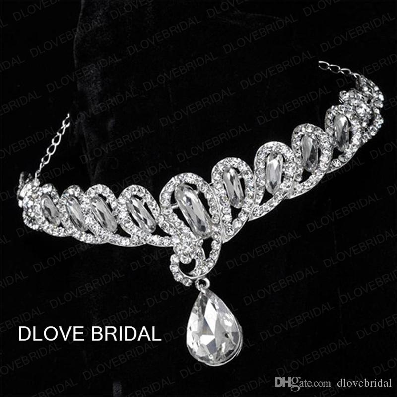 Crystal Bridal Headband New Style Elegant Wedding Hair Accessory Elegant Real Photo Headpiece Hairband In Stock Ready to Ship