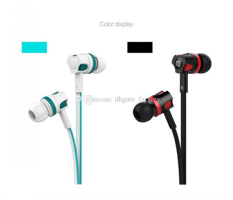 Langsdom Earbuds JM26 Stereo Earphone New Headphone Noise Canceling Headset with Microphone for Mobile Phone DHL