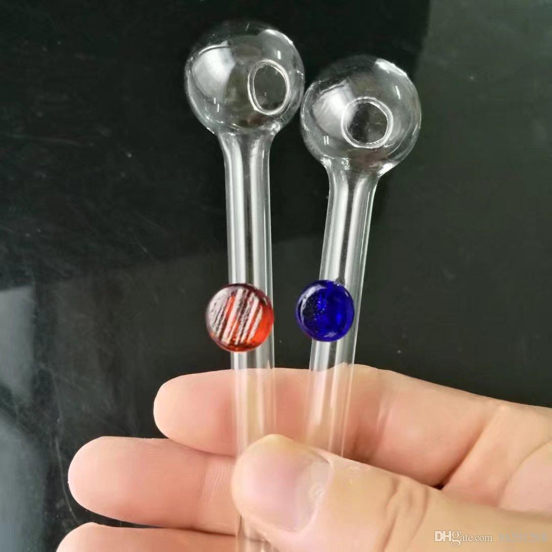 A nova cor fulcro mini-pote transparente, vidro grosso Bongs, as tubulações de óleo Burner água de vidro, cachimbos Acessórios