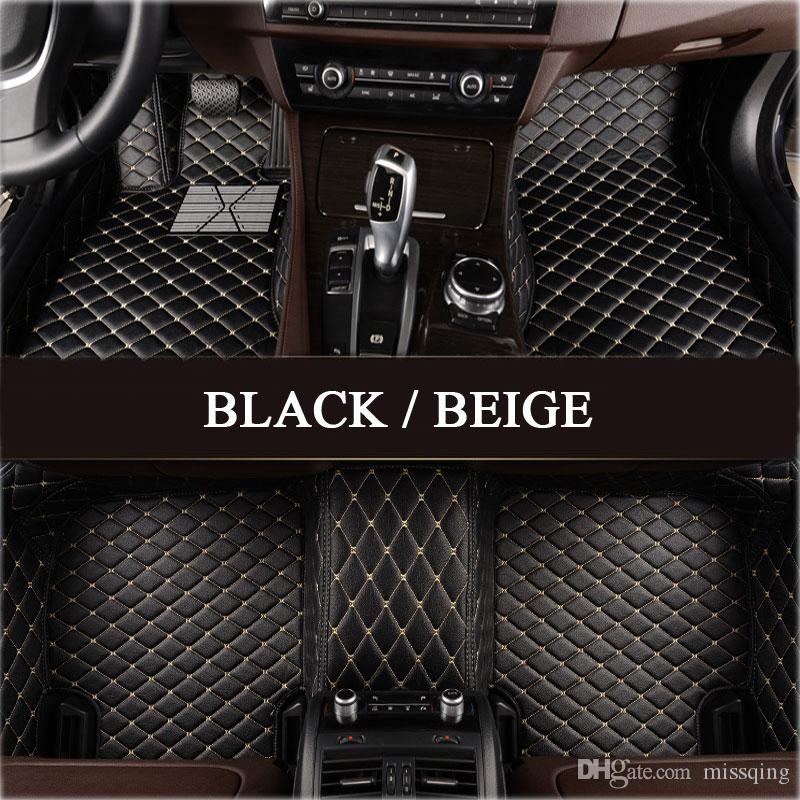 mat floor audi set mats cargo carpets liners suv car customized full custom for waterproof pin leather