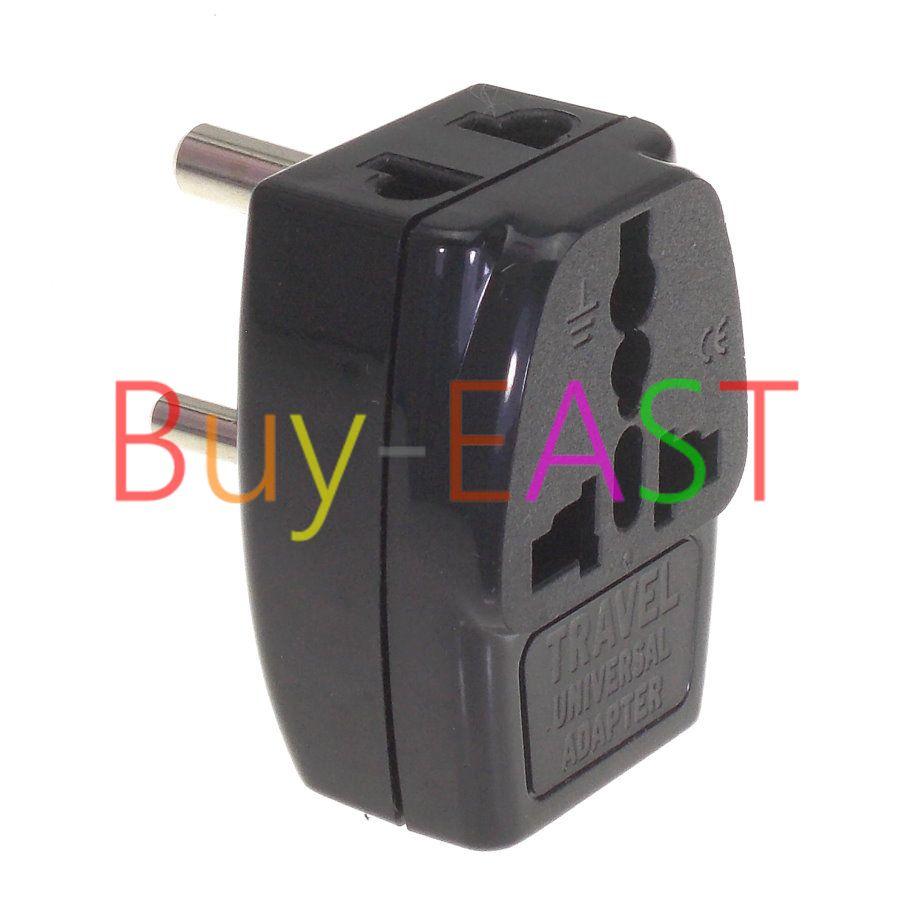 India, Sri Lanka Electrical Plug Adapter 3 Way Multi Outlet Convert ...
