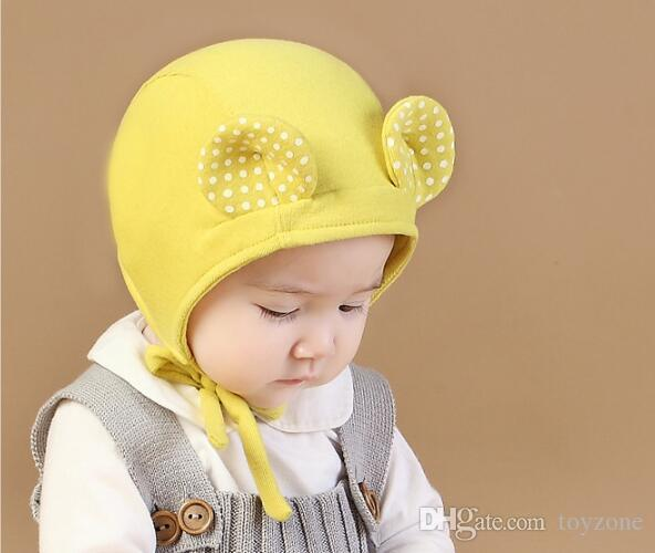 9de255116 2019 High Quality Cartoon Cat Ear Toddler Hats Winter Milk Boy Baby ...