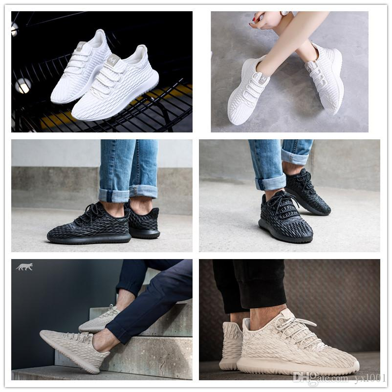 2017 Tubular Shadow Bw1396 Thorns Tattoo All White Khaki 350 Knit Boost For  Men Women Kanye West Running Shoes Fashion Sports Sneakers 36 45 Tennis  Shoes ...