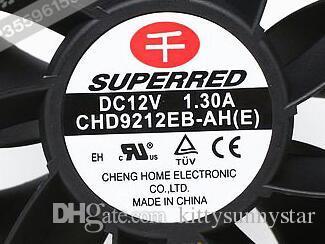 CHD9212EB-AH E 9038 12V 1.3 a 9cm PWM 4wire вентилятор охлаждения