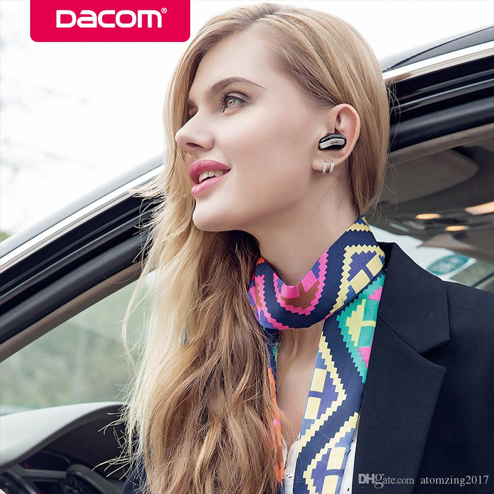Dacom k8 mono piccoli auricolari singoli nascosti auricolare invisibile micro mini cuffia auricolare bluetooth auricolare senza fili il telefono