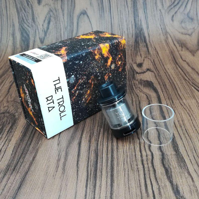 Tubo de vidro da substituição de 100% VapeSoon para Wotofo Tubo de vidro claro do atomizador de TROLL RTA