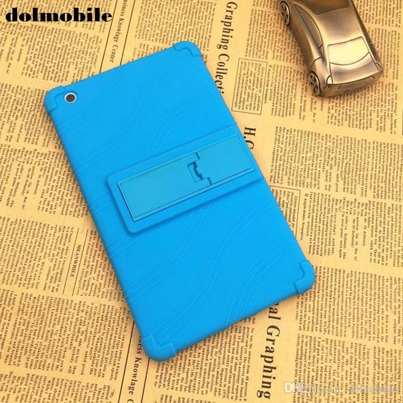 Soft Silicon TPU Back Cover with Stand for Huawei MediaPad M3 Lite 8 8.0 CPN-W09 CPN-AL00 Tablet Case Stylus Pen
