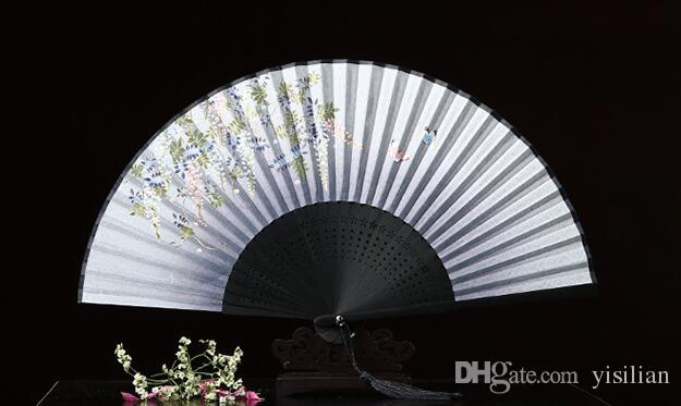 Hot sale Crafts gifts ancient fan fan animation fan custom ZS011 as your needs