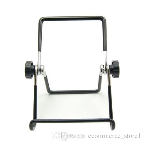 Metal Tablet PC Stand Mount Holder Foldable Multi-angle Non-slip For iPad 1 2 3 4 air1 2 Mini Cell Phone with Retail Package