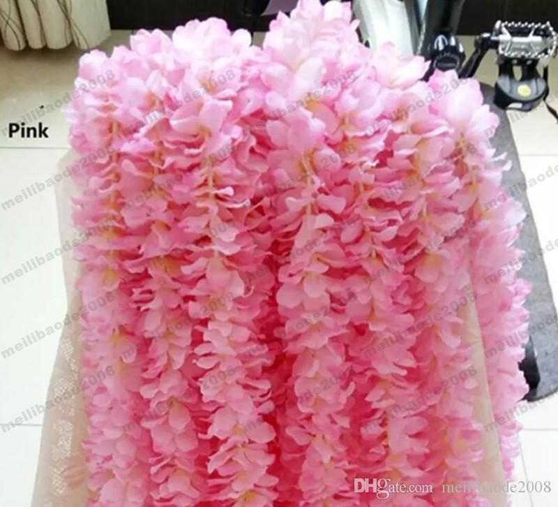 1 м каждый шт Искусственные белые орхидеи каттлеи шнуры свадебный шелковый цветок цветочная композиция свадебные реквизиты оптом MYY