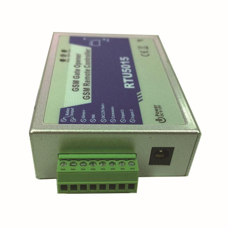 Wholesale- GSM Gate Opener 2Digital Input 1 Relay Out Mobile Phone Control  Andriod APP Caller ID Access Door Lock King Pigeon RTU5015