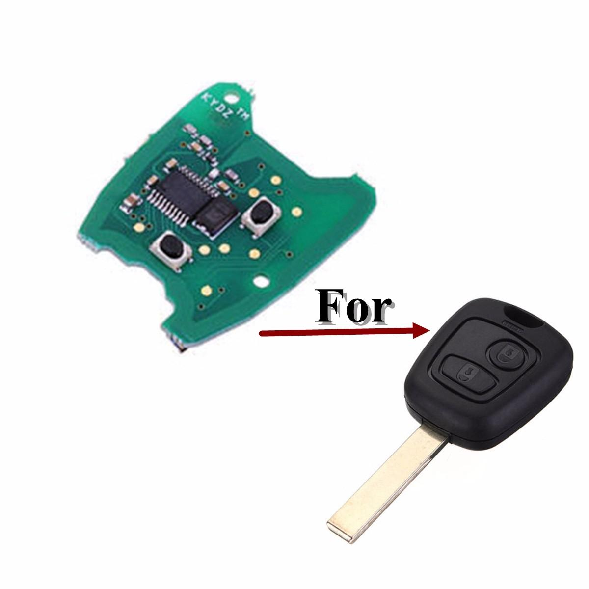 Circuit Board And Boards T Printed Prototype Product Photosprinted 433mhz 2 Button Remote Key Fob