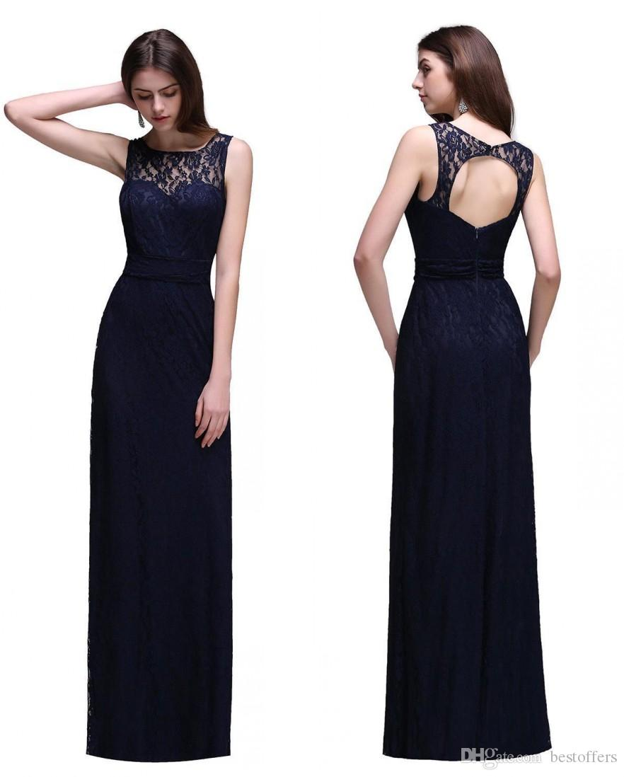 Only 49 in stock navy blue high end bridesmaid dresses summer only 49 in stock navy blue high end bridesmaid dresses summer beach maid of honor gowns keyhole back a line dresses cps539 designers of bridesmaid dresses ombrellifo Images