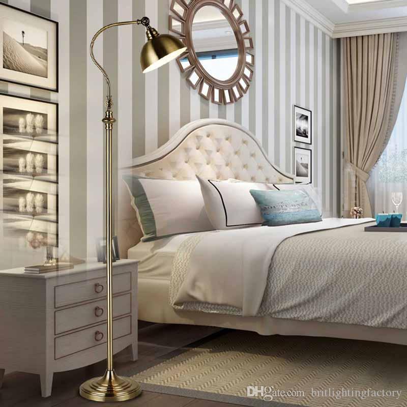 Grosshandel American Retro Stehleuchte Einfaches Wohnzimmer