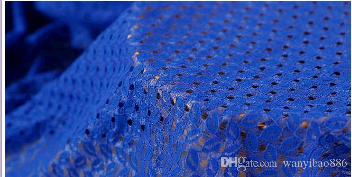 10MHot Selling High Quality Brocade small leaf bud silk fabrics The new pattern and dress lace fabric