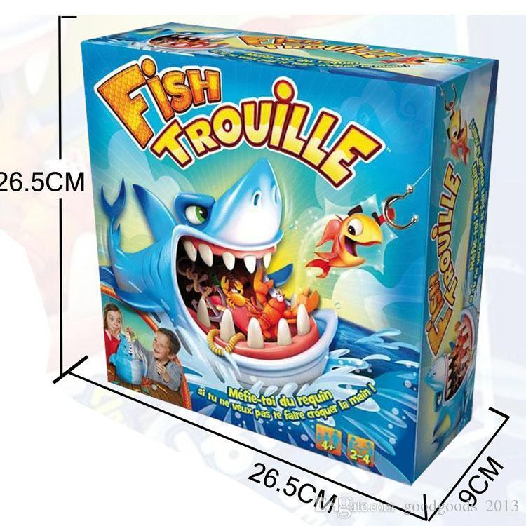 Poisson Trouille Grand Requin Bouche Morsure Doigt Jeu Prank Drôle Nouveauté Gag Jouet De Pêche pour Enfants z067