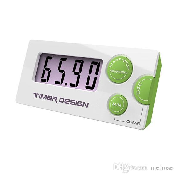 الموضة الجديدة العد التنازلي 99 دقيقة 59 ثانية LCD Digital Lab / Kitchen Mini Timer Relay Digital LCD Timer Product Code: 85-1007