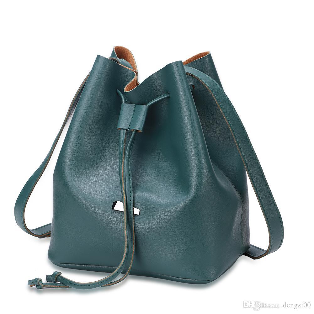 197321b964fb New design pu tassel bucket bags for lady drawstring leisure women shoulder  bag Ladies leisure fashion bucket bag bag