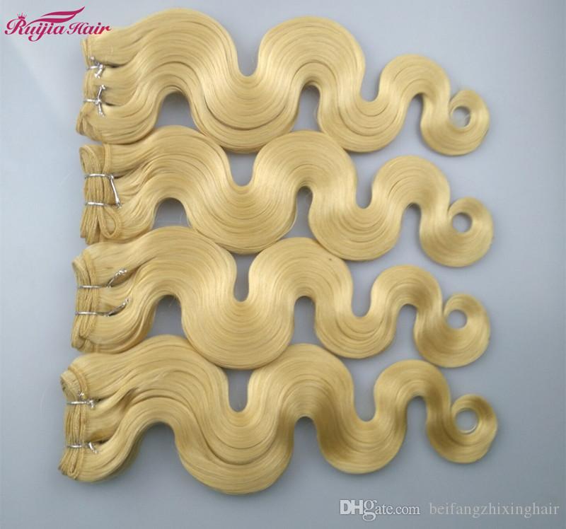ブルゴーニュブラジルボディウェーブ3ピースブルゴーニュブラジル髪織りバンドルブロンドカラー613人間の髪ブラジルのバージンヘアボディーウェーブ