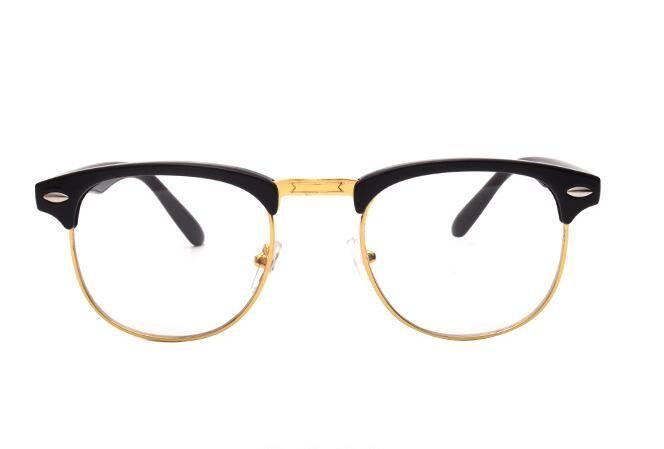6e5599e3e008 2017CNHUAIN Brand TR90 Optical Glasses Frame Men Half Rim Clear Lens ...