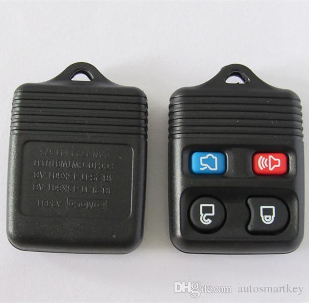 Nuovo portachiavi sostitutivo senza chiave telecomando Ford 4 pulsanti custodia telecomando