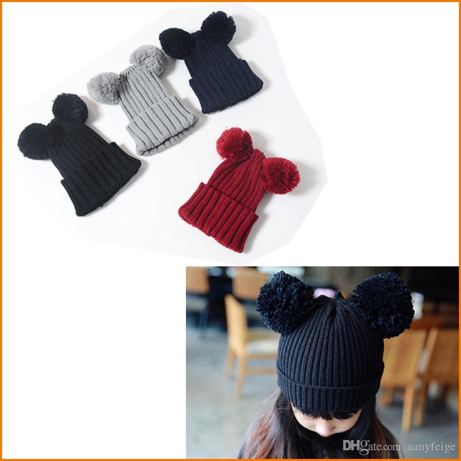 Compre Crianças Chapéus De Inverno 57b5436f43b