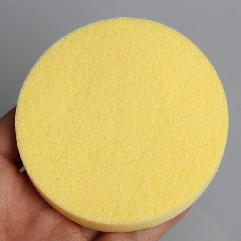 Esponja de Limpeza Suave Esponja de Limpeza Facial Lavagem Facial Almofada de Limpeza Esfoliante Cosméticos Puff Puff Limpeza de Limpeza J1729