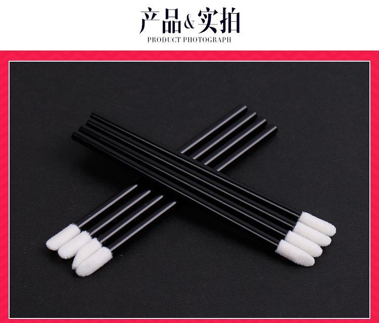 100 pezzi monouso Lip Brush Gloss bacchette dell'applicatore trucco cosmetico attrezzo di bellezza superiore strumenti di cotone a basso prezzo all'ingrosso