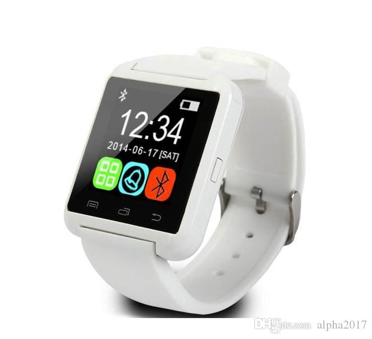 Bluetooth Smartwatch U8 U8 Smart Watch U Watch with Altitude Wrist Watches wristband for iPhone Samsung HTC Sony Cell Phones Android Phone