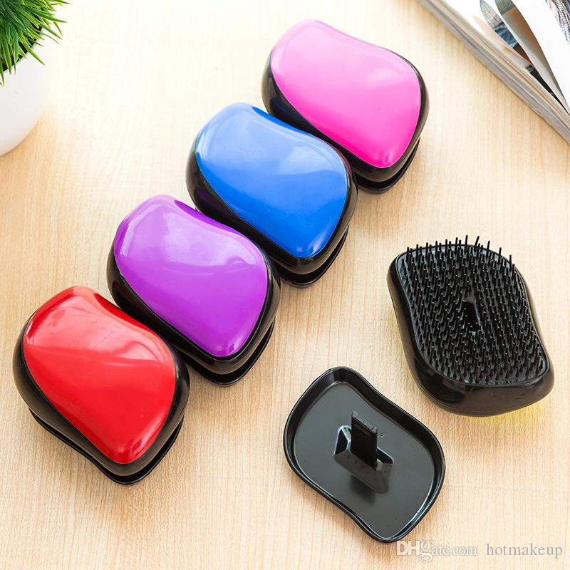 ad5df466ce23 Massage Brush No Tangle And Pain Anti Static Soft Bristle Massaging    Straightening Wet Or Dry Detangle Comb For All Hair Types Short Hair Styles  Hair Style ...