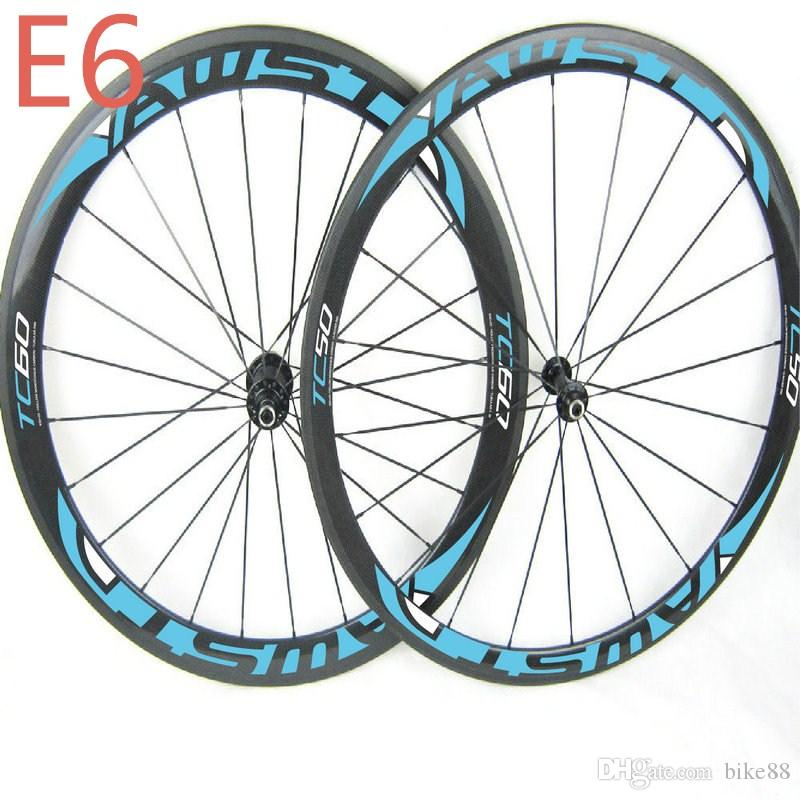 Hot Sale china carbon bike wheels front 50mm rear 60mm bicycle road wheelset clincher with powerway hubs carbon wheels road