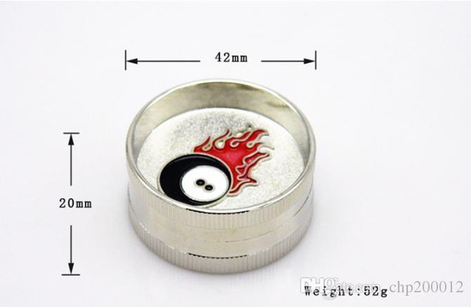 Diamètre de broyeur mini-dent à 2 niveaux 42MM peinture de point