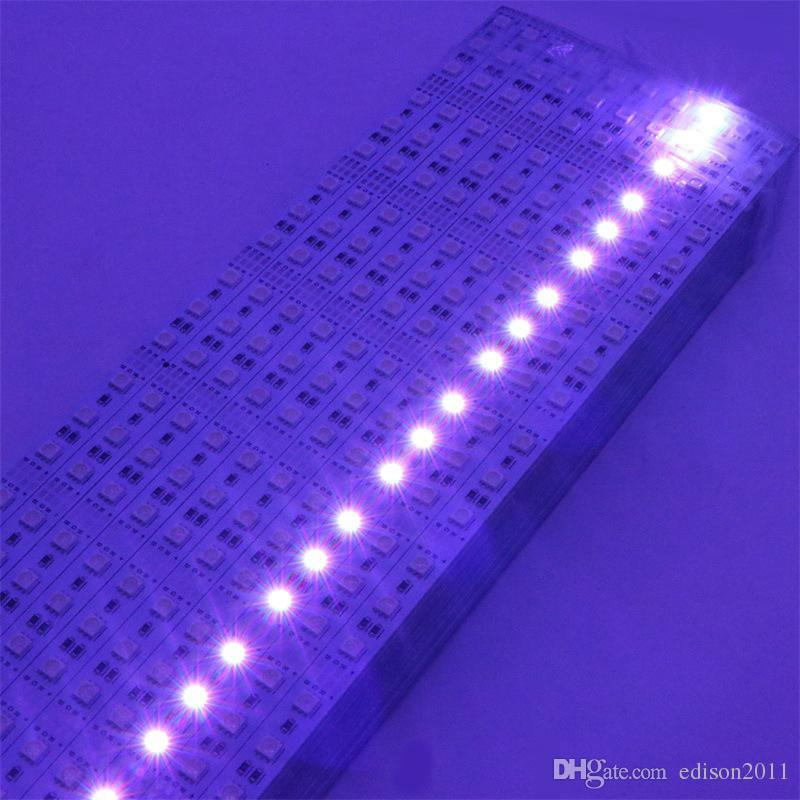 Edison2011 SMD 5050 LED Decoration Bar Light RGB 72LEDs 60LEDs Cabinet LED Rigid Strip DC 12V LED Hard Strip
