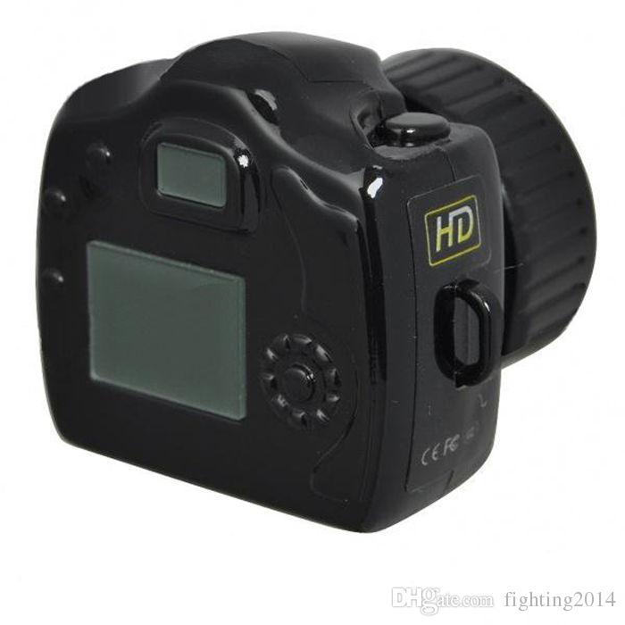 مصغرة كاميرا Y2000 HD جيب البسيطة dv كاميرا ويب فيديو تسجيل صوتي مايكرو كام أصغر كاميرا كاميرات صغيرة