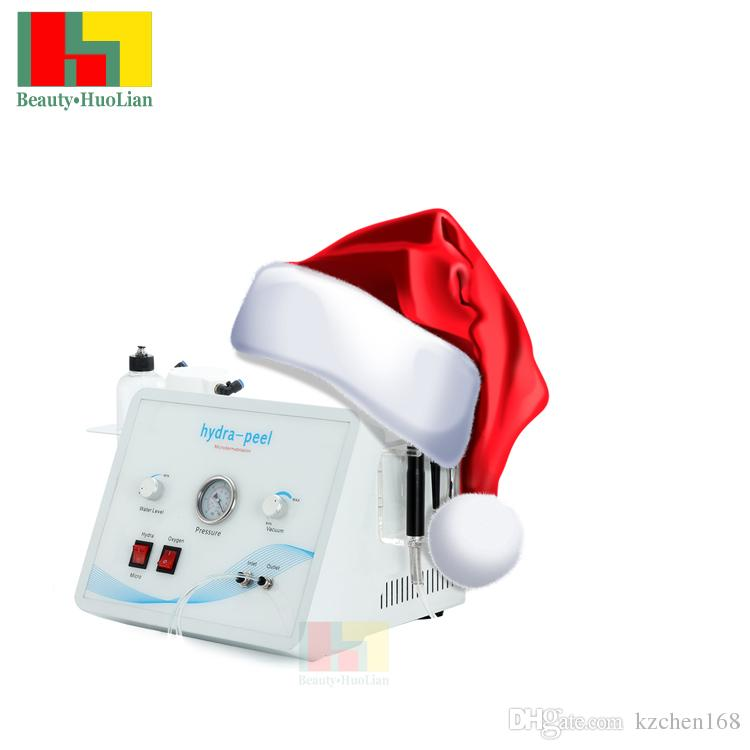 lady christmas gift microdermabrasion hydra facial cleaning machine portable oxygen jet skin peeling facial cleaning machine scar removal clearing blackhead