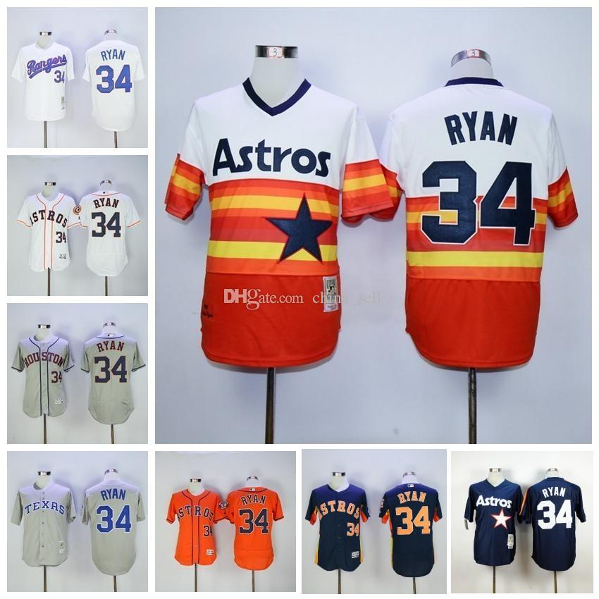 hot sale online ecc4b 4dec3 top quality mitchell and ness astros 34 nolan ryan ...