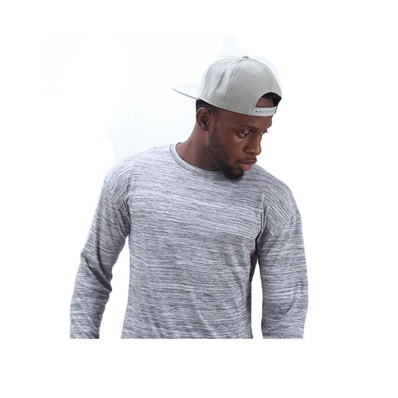 Kanye West 2017 Extend Hip Hop Street T-shirt Wholesale Fashion Brand T shirts Men Summer Long Sleeve Oversize Design Hold Hand