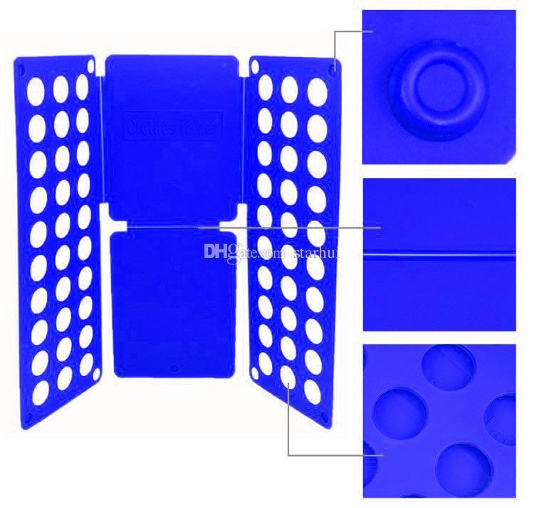 Enfoldment Panel كسول كبير طي الملابس المجلس الطيات البلاستيكية سريعة وسهلة لوحات السلع المنزلية عالية الجودة WX-C06
