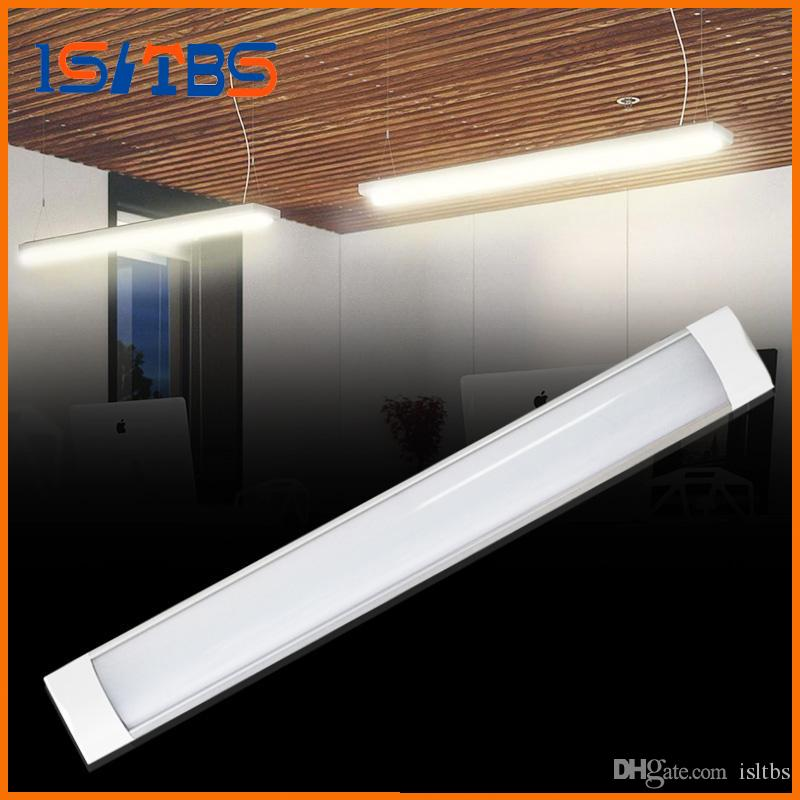Led S 20w 40w 100 265v Surface Mounted Batten Double Row Lights 2ft 4ft T8 Fixture Purificati Tri Proof Light To Replace