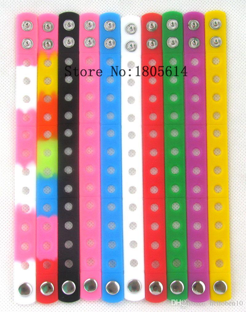 Heat! The new shoe color sports long wristband 100% silicon gym FREE BRACELET wholesale delivery